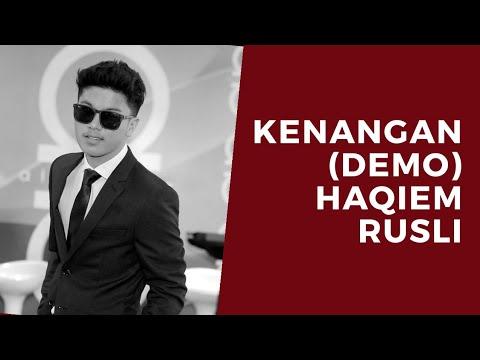 Kenangan (Demo) - Haqiem Rusli (Korean Version)