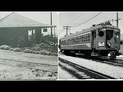 Old train tracks of the Pacific Electric Red Cars and more