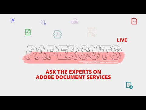 Papercuts LIVE: Working with PDFs in Microsoft Power Automate - Adobe