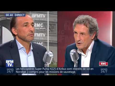 Interview Bourdin Direct RMC-BFMTV [02/06/2016] | Tariq Ramadan