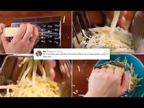 DZL - You've been using a cheese grater wrong your entire life