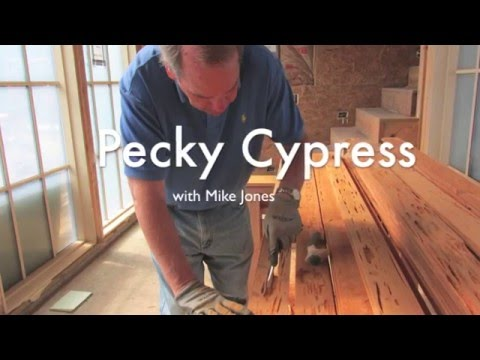 Pecky Cypress with Mike Jones