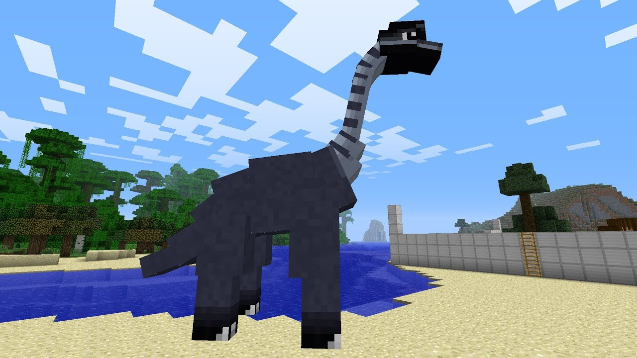 how to make dinosaur is jurassicragy 1.7.10