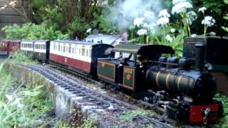 The Silverdale Light Railway (North) Narrow Gauge Garden Railway.
