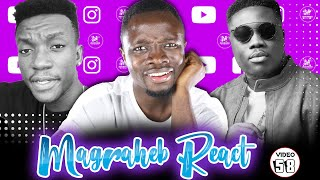 Magraheb Reacts to Brella New Adwenfii video 'Mood' ft Kurl Songx