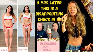 Freelee reacts to @blogilates  What i eat in a day (5 yrs later ) #50