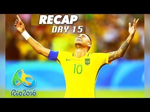 Rio Olympics 2016 Results, Neymar Goal, Brazil vs Germany (Day 15 Recap - August 20, 2016)