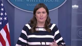 5/11/18: White House Press Briefing thumbnail