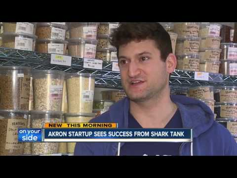 Akron startup, Peaceful Fruits, gets major boost from appearance on 'Shark Tank'