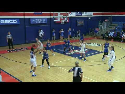 HBU Women's Basketball VS LETU Highlights