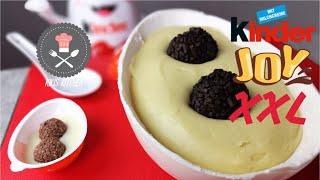 XXL Kinder JOY | Giant Kinder Joy | Giant Kinder Merendero | Kikis Kitchen