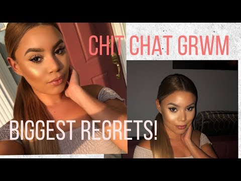 CHIT CHAT GRWM | BIGGEST REGRETS, LIFE LESSONS | PATRYYCIAH thumbnail