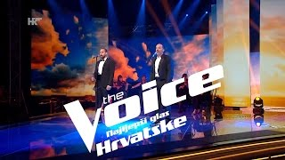 edgar i tony o sole mio the voice of croatia season2 live4
