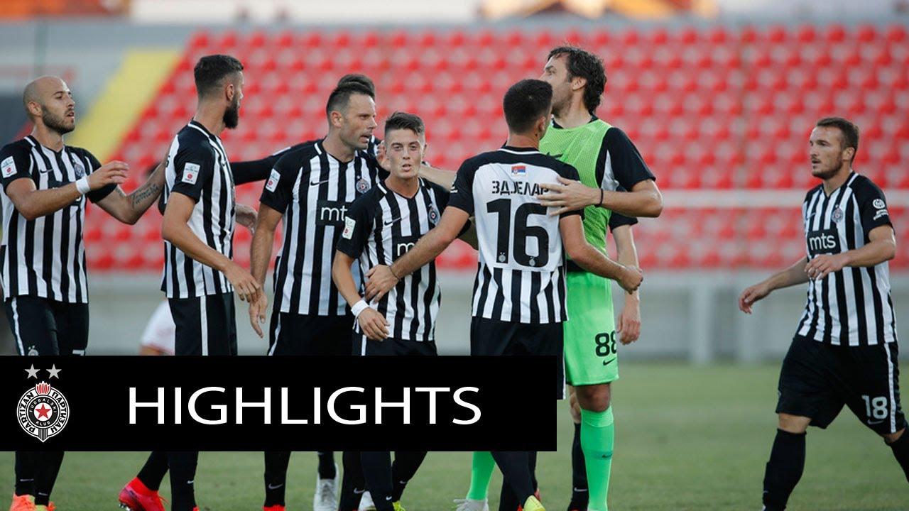 Pregled meča 1. kola Linglong Tire SLS Napredak - Partizan 1:3