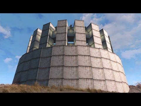 Fallout 4 Coliseum Style Settlement (Building Curves)