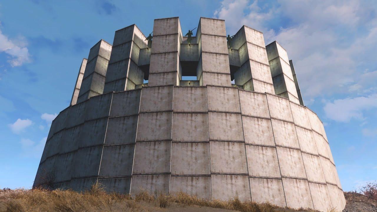 Fallout 4 Coliseum Style Settlement Building Curves