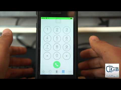 How to Setup Conditional Call forwarding in iPhone Running iOS 8 or Earlier