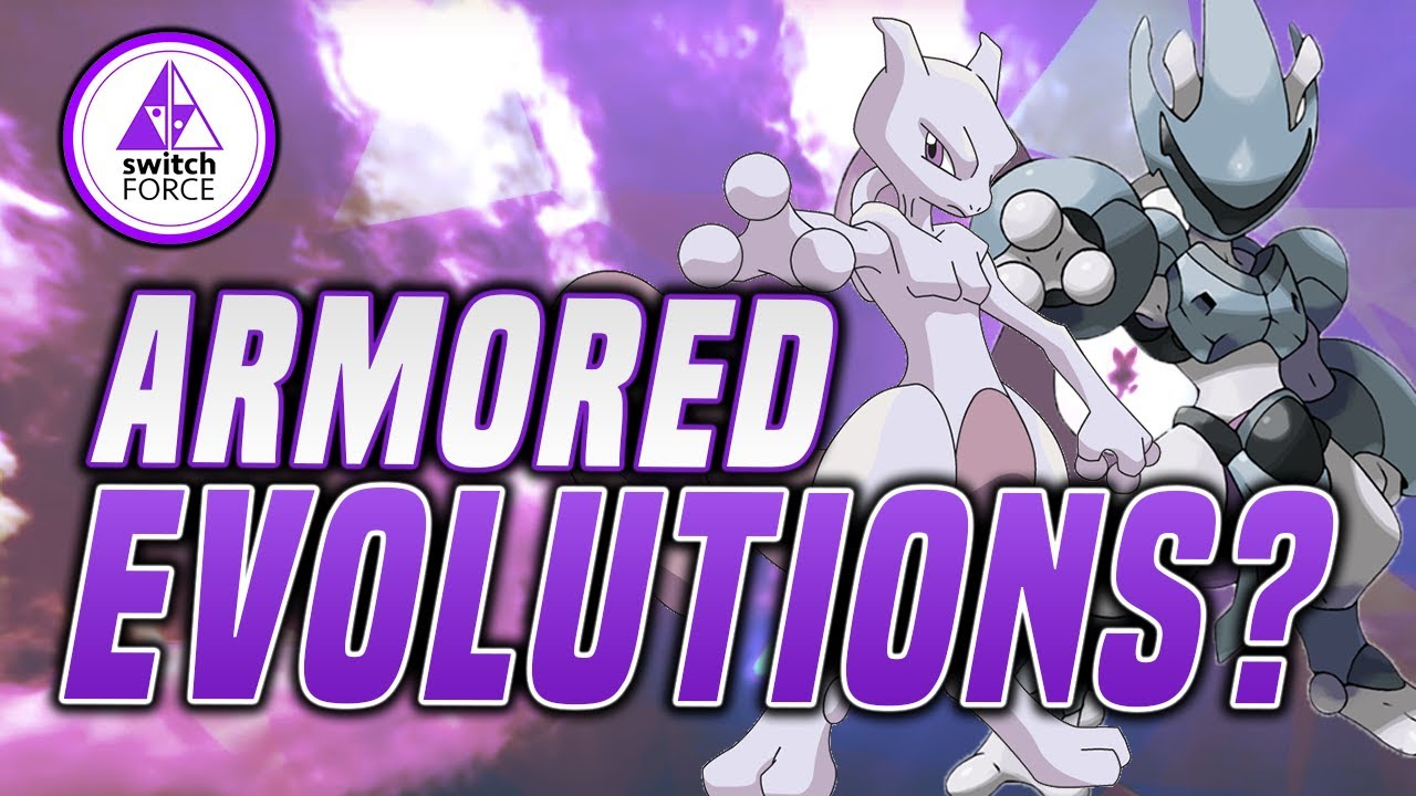Pokemon Sword And Shield Armored Evolutions Might Really Be