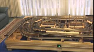 N Scale Coffee Table Train Layout Pt.1