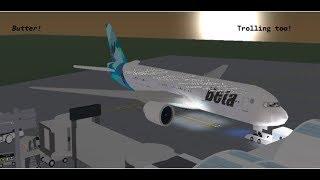 Beta Fleet BUTTER Landing! [ROBLOX]