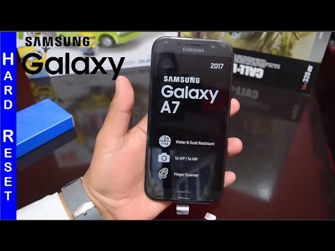 Samsung Galaxy A7 2017 Hard Reset Desbloquear SM-A720F