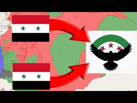 Ejercito libre sirio en retirada | guerra siria 14/7/2017