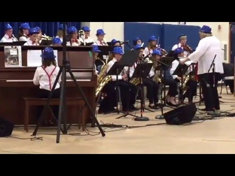 Center Drive school jazz band 2015