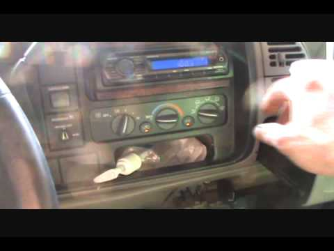 Chevrolet C/K truck mode and blend door actuator replacement - YouTube