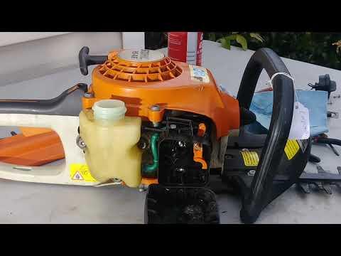 RDMJ.HS 45 STIHL .CORTASETOS.Como cambiar el carburador.