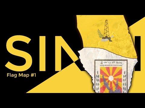 Sinai Peninsula - Flag Map #1