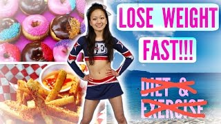 How to LOSE WEIGHT - WITHOUT DIET or EXERCISE?!