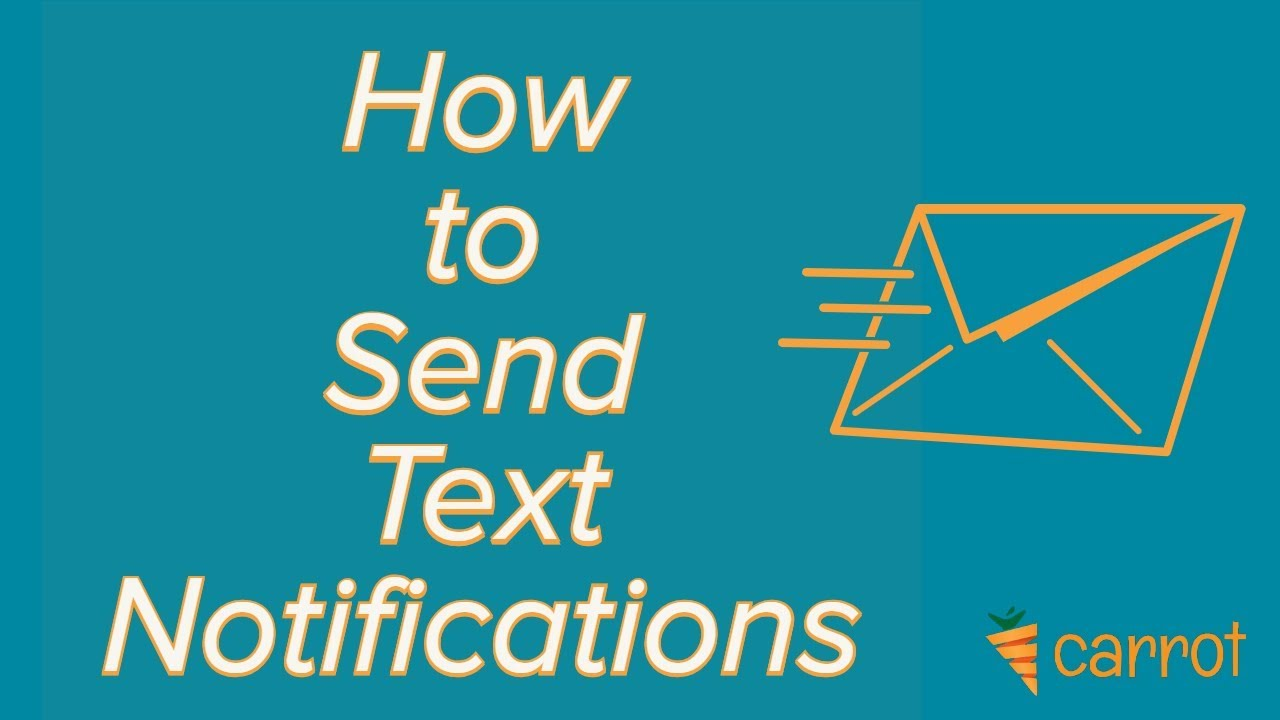 How to Setup SMS Notifications