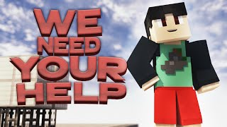 WE NEED YOUR HELP || YOU Can JOIN My NEW MINECRAFT ROLEPLAY (Interactive Roleplaying)