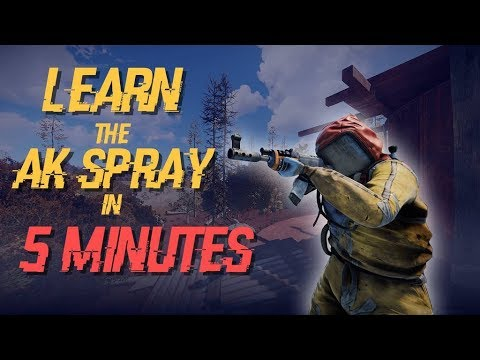 Rust | How to Learn the AK Spray in 5 Minutes