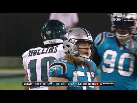 All Carson Wentz Throws vs. Panthers (Week 6 - 2017)