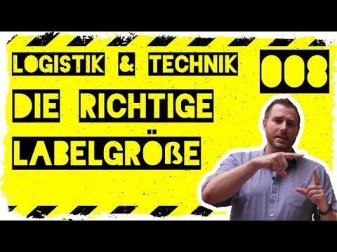 logistik&technik #008: Labelgröße für DHL, DPD, GLS, Deutsche Post, Hermes und UPS