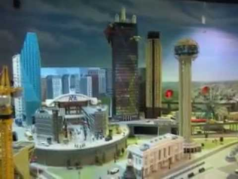 Down Town Dallas  Lego   YouTube Down Town Dallas  Lego