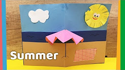 DIY Summer Crafts | Cozy beach theme | Nice decoration for kids