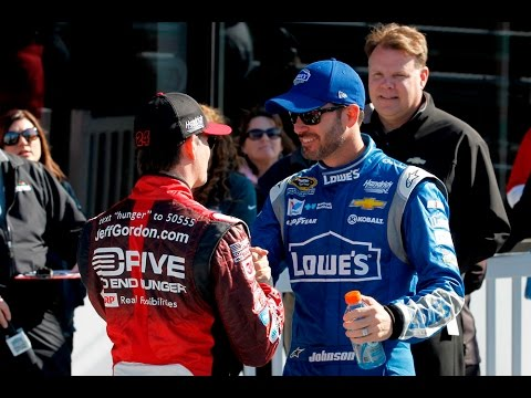 Jimmie Johnson 1-on-1 with Jeff Gordon - 'NASCAR RaceDay'