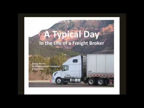 A Typical Day in the Life of a Freight Broker