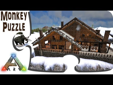 Exploring Ragnarok In Game - Ep18 - Conquering The Murder Murder Snow With Coziness - ARK Map