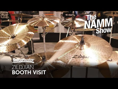 Zildjian Cymbal Booth at Winter NAMM 2020