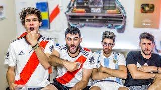 River vs Argentino de Merlo | Reacciones de Amigos | Copa Argentina 2019