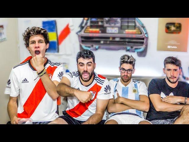 River vs Argentino de Merlo   Reacciones de Amigos   Copa Argentina 2019