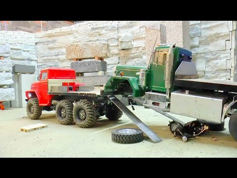 BEST OF RC | CRASH | ACCIDENT |  HEAVY LOAD AND MORE CRAZY SCENES | RC LIVE ACTION RC TOYS