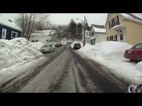 Valentines Day 2015 Virtual Cycling bike training Lowell snowstorm