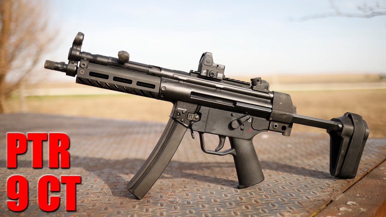 PTR 9 CT : The American Made MP5 First Shots