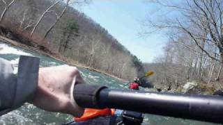 Kayaking Pine Creek (April 2nd 2010)