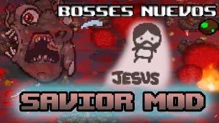 Más Personajes Y Bosses!   SAVIOR - THE BINDING OF ISAAC AFTERBIRTH (Mod)