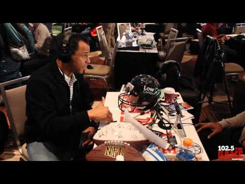 1025 the Game Presents: Super Bowl 48 Interviews - Rod Woodson